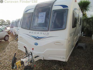 Bailey Pegasus GT65 Rimini 2014  Caravan Thumbnail