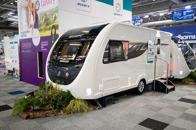 Swift Eccles 480 Show Caravan 2020  Caravan Thumbnail