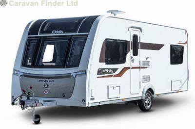 Elddis Affinity 574 2021  Caravan Thumbnail