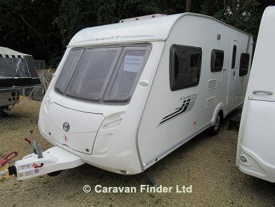Swift Charisma 565 2009  Caravan Thumbnail