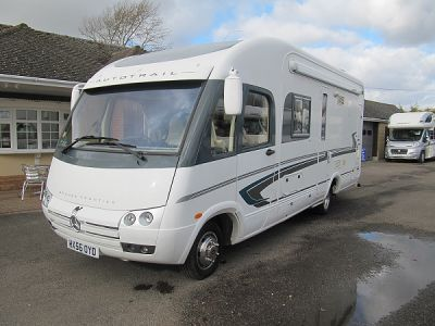 Used Autotrail Grande Frontier A7300 Mercedes 2700cdi 2 b 2006 2006 motorhome Image