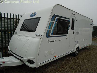New Caravelair Antares 480 2018 touring caravan Image