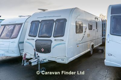 Used Bailey Olympus 525 SOLD 2010 touring caravan Image