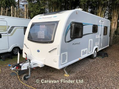Used Bailey Pursuit 560/5 2016 touring caravan Image