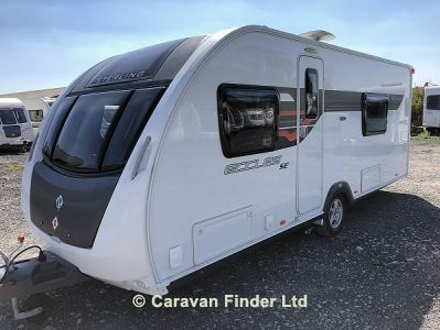Used Sterling Eccles Solitaire SE 2014 touring caravan Image
