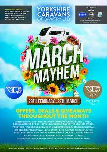 March show at Yorkshire caravans News Photo